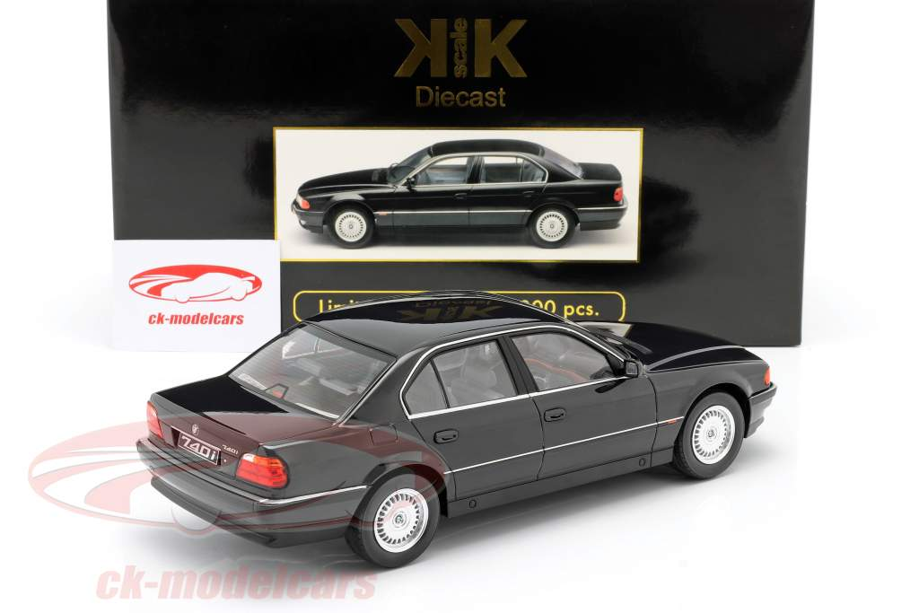 Kk Scale 1 18 Bmw 740i E38 1 Series Year 1994 Black Metallic Kkdc180361 Model Car Kkdc180361 9580015713993