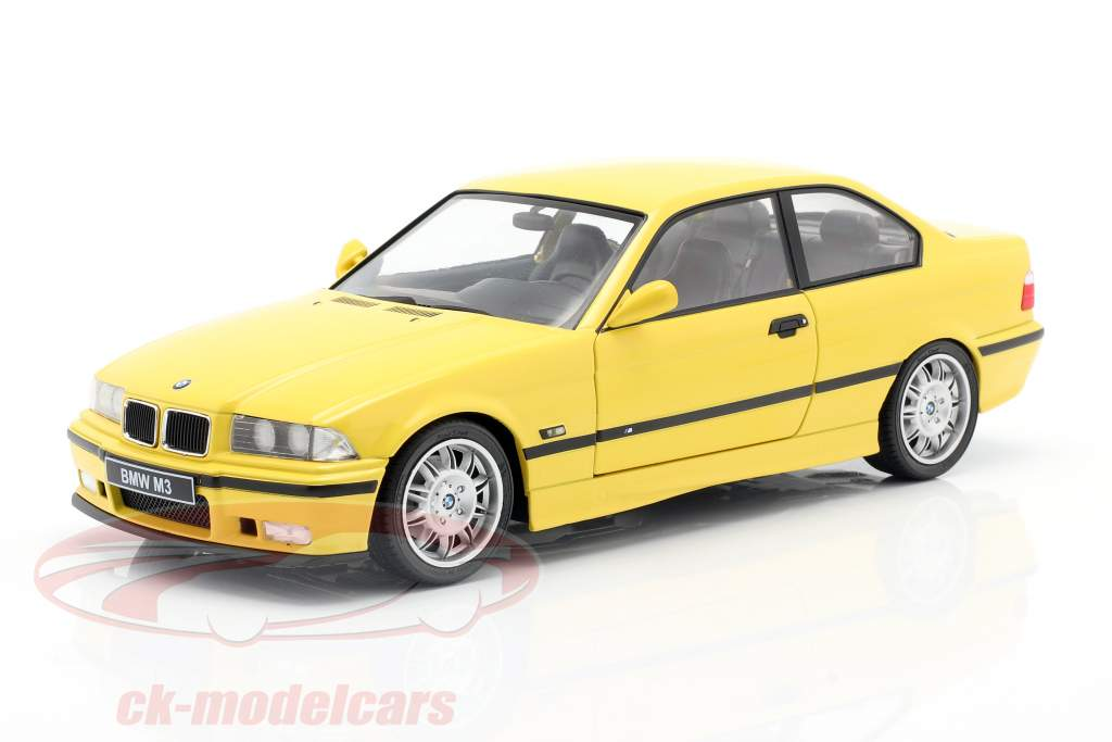 BMW M3 Coupe (E36) Año de construcción 1994 Dakar amarillo 1:18 Solido