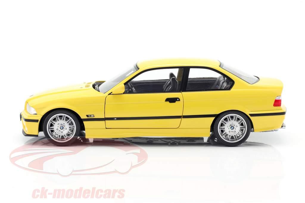 BMW M3 Coupe (E36) Ano de construção 1994 Dakar amarelo 1:18 Solido