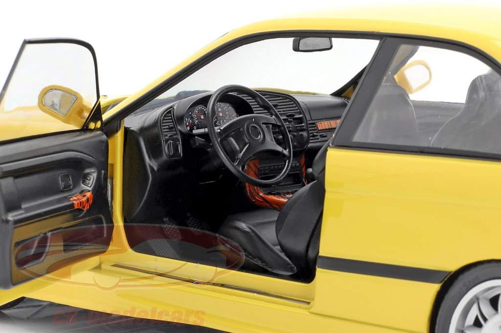 BMW M3 Coupe (E36) Anno di costruzione 1994 Dakar giallo 1:18 Solido