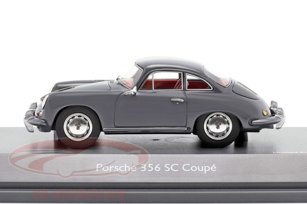 Porsche 356 SC Coupe Année de construction 1961-1963 gris 1:43 Schuco