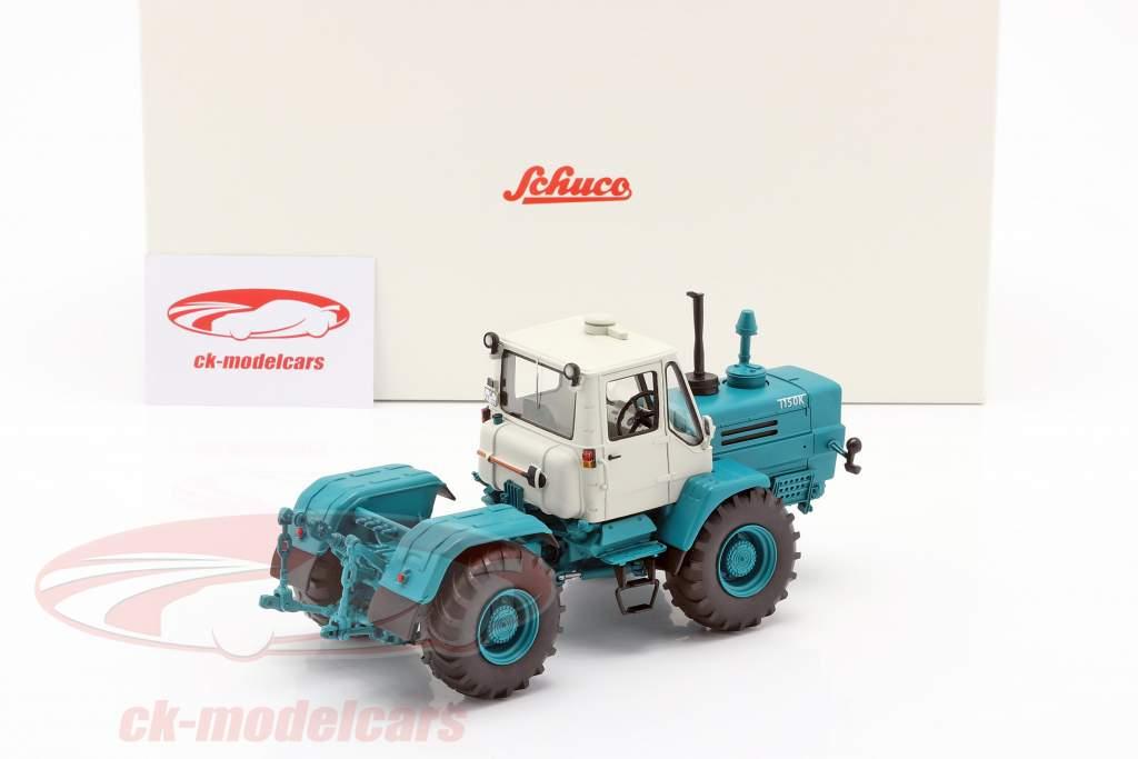 Charkow T-150K traktor blå 1:32 Schuco