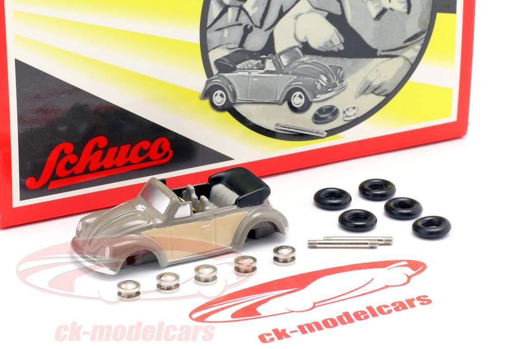 Volkswagen VW Käfer Cabrio Montagekasten für den kleinen Cabrio-Monteur 1:90 Schuco Piccolo