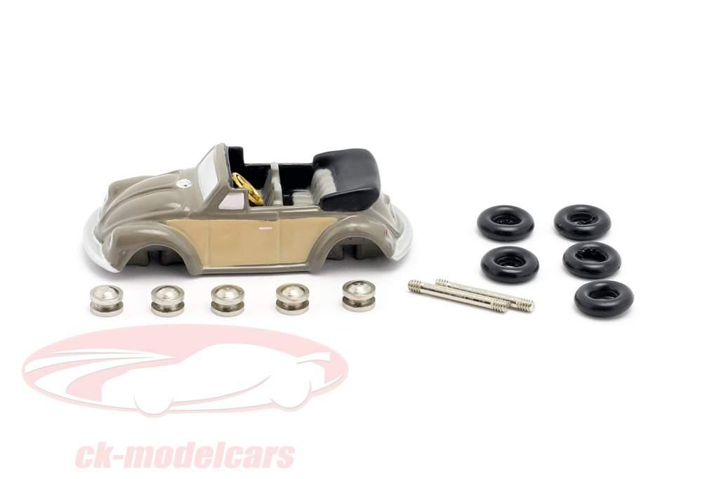 Volkswagen VW bille Cabriolet byggeri Kit til den lille Cabrio montør 1:90 Schuco Piccolo
