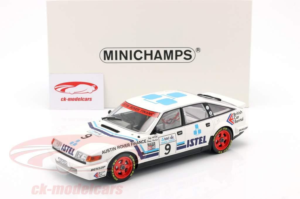 Rover Vitesse #9 Ganador RAC Tourist Trophy 1986 Allam, Hulme 1:18 Minichamps