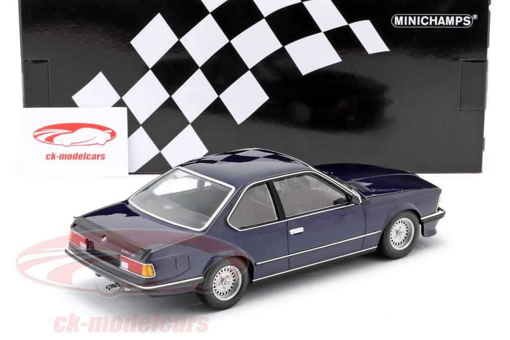 1:43 Minichamps BMW 635 CSI 1982 bluemetallic