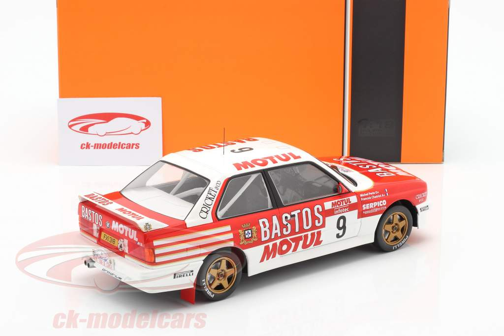 BMW M3 (E30) #9 4to Rallye Tour de Corse 1988 Chatriot, Perin 1:18 Ixo