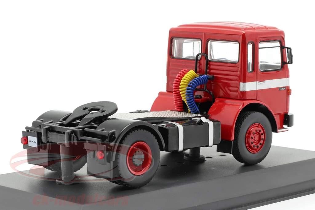 MAN 16.320 Caminhão vermelho 1:43 Ixo