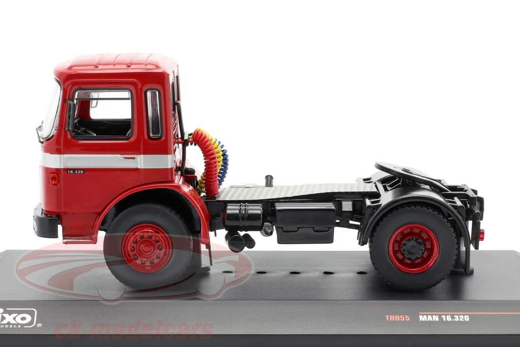 MAN 16.320 Camion rouge 1:43 Ixo