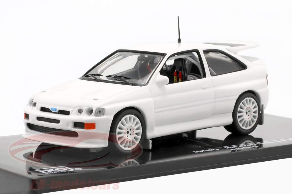 Ford Escort RS Cosworth 1994 Rallye Specs Plain Body Version blanco 1:43 Ixo