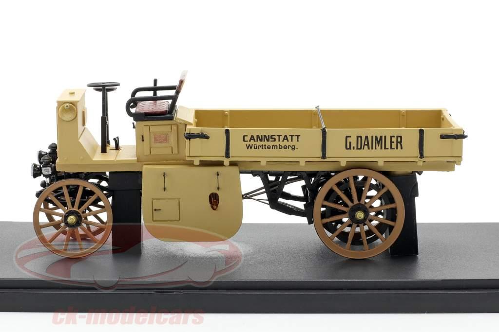 Daimler Camion à moteur Année de construction 1898 beige 1:43 Neo