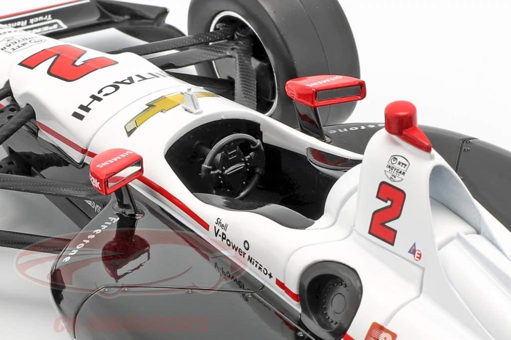 Josef Newgarden Chevrolet #2 Campeon Indycar Series 2019 1:18 Greenlight