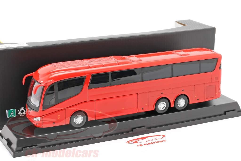 Scania Irizar Pb Bus rood 1:50 Cararama