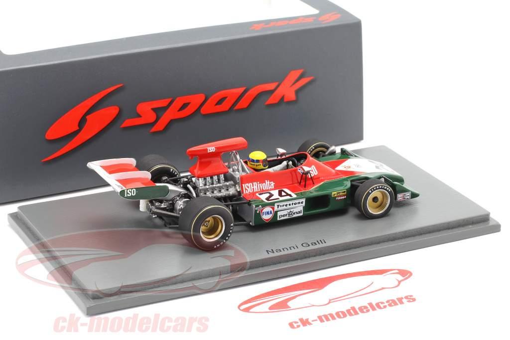 Nanni Galli Iso-Marlboro IR1 #24 spansk GP formel 1 1973 1:43 Spark