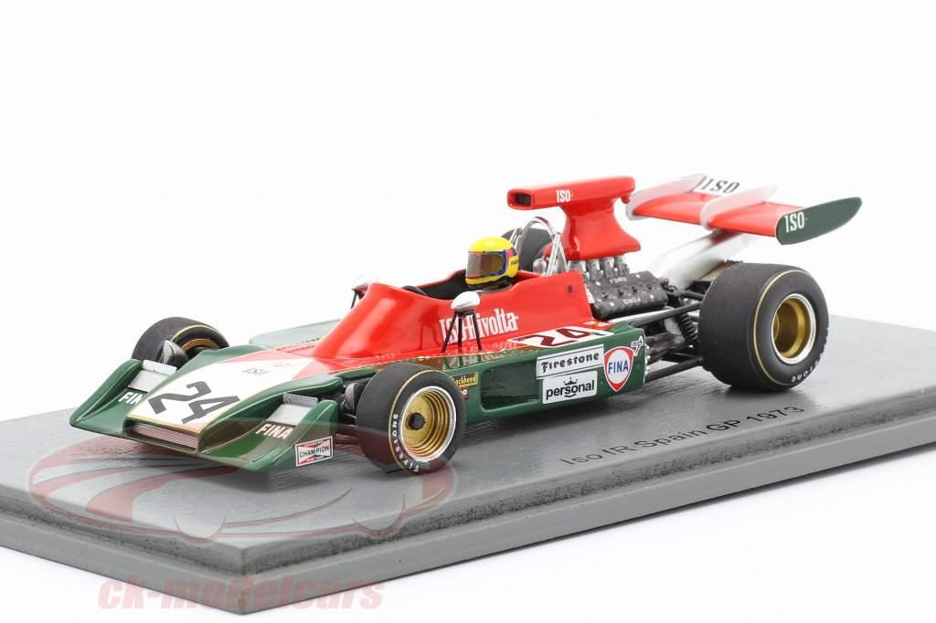 Nanni Galli Iso-Marlboro IR1 #24 Spanish GP formula 1 1973 1:43 Spark