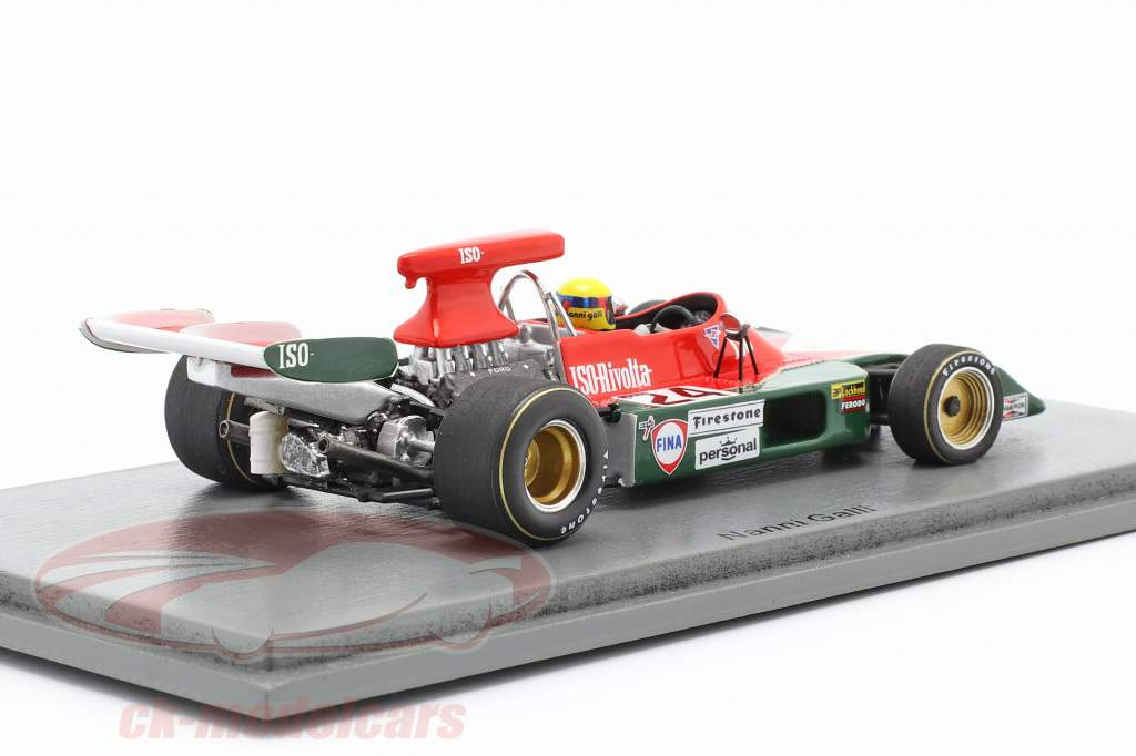 Nanni Galli Iso-Marlboro IR1 #24 Spaans GP Formule 1 1973 1:43 Spark