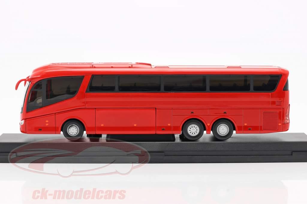 Scania Irizar Pb bus red 1:50 Cararama