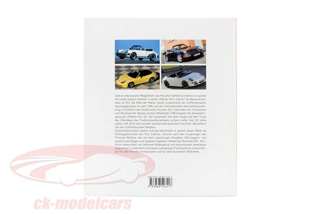 Libro: Porsche 911 Cabrio - Historia Desarrollo, Modelos / por Stefan Schrahe