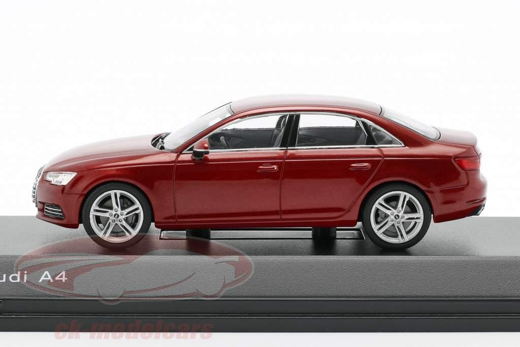 Audi A4 matador red 1:43 Spark