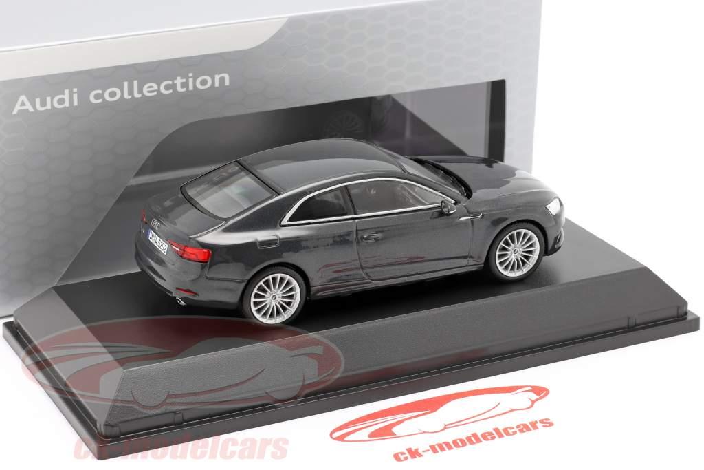 Audi A5 Coupe Manhattan grå 1:43 Spark