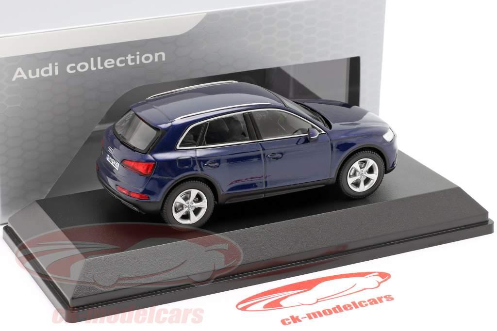 Audi Q5 navarra blu 1:43 iScale