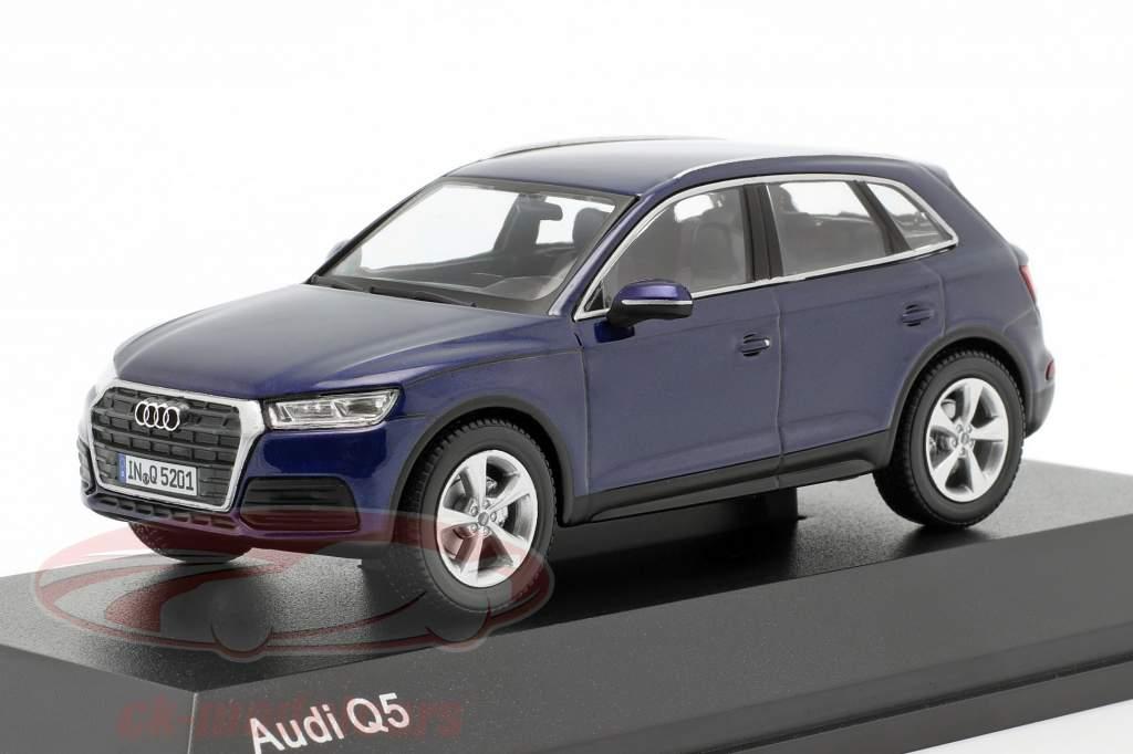 Audi q5 coche modelo 1:43 navarrablau azul 5011605632