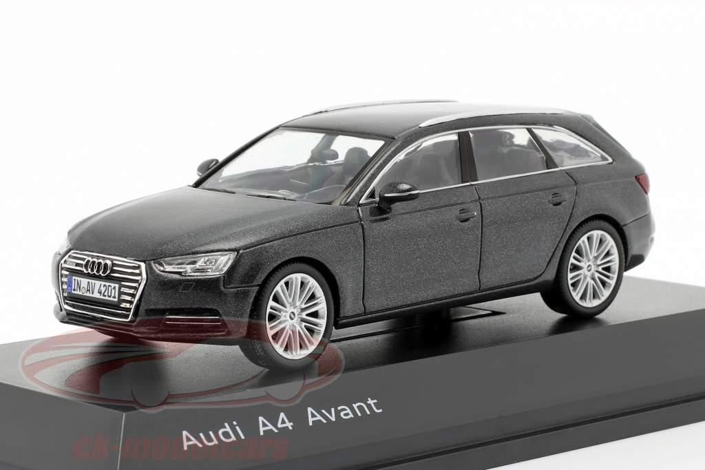Audi A4 Avant daytona grau 1:43 Spark