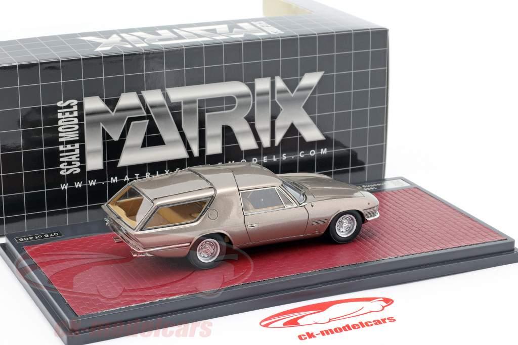 Ferrari 330GT Shooting Brake Vignale Baujahr 1968 beige metallic 1:43 Matrix