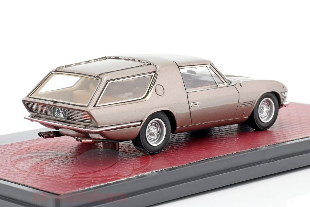 Ferrari 330GT Shooting Brake Vignale Año de construcción 1968 beige metálico 1:43 Matrix