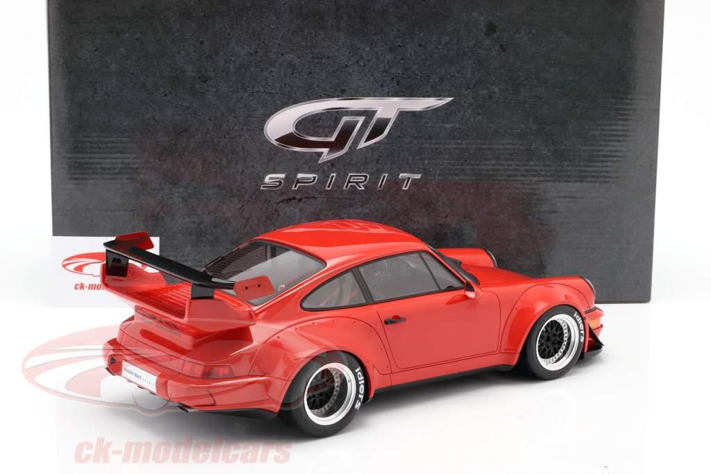Porsche 911 (964) RWB Coupe Rauh-Welt 1990 rojo 1:12 GT-Spirit
