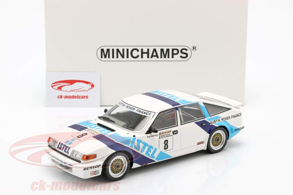 Rover Vitesse #8 winner class A BTCC 1987 Tim Harvey 1:18 Minichamps