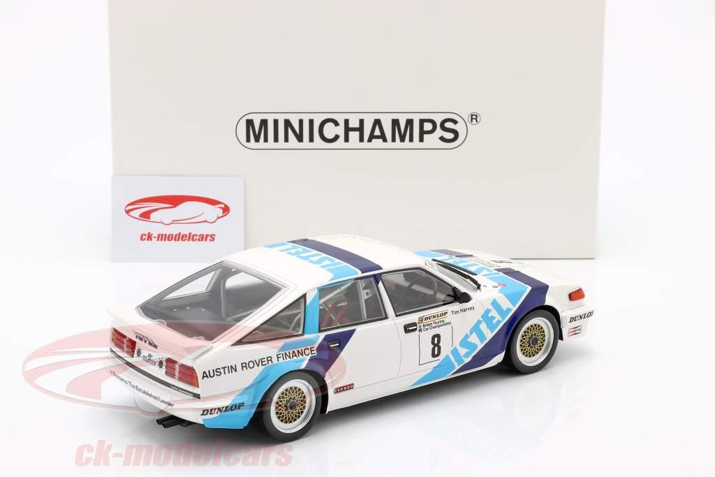 Rover Vitesse #8 vincitore classe A BTCC 1987 Tim Harvey 1:18 Minichamps