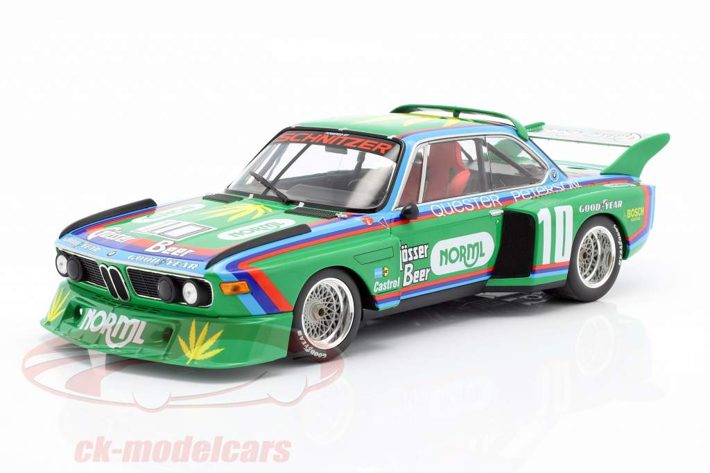 BMW 3.5 CSL #10 5th 6h Watkins Glen 1976 Quester, Peterson 1:18 Minichamps