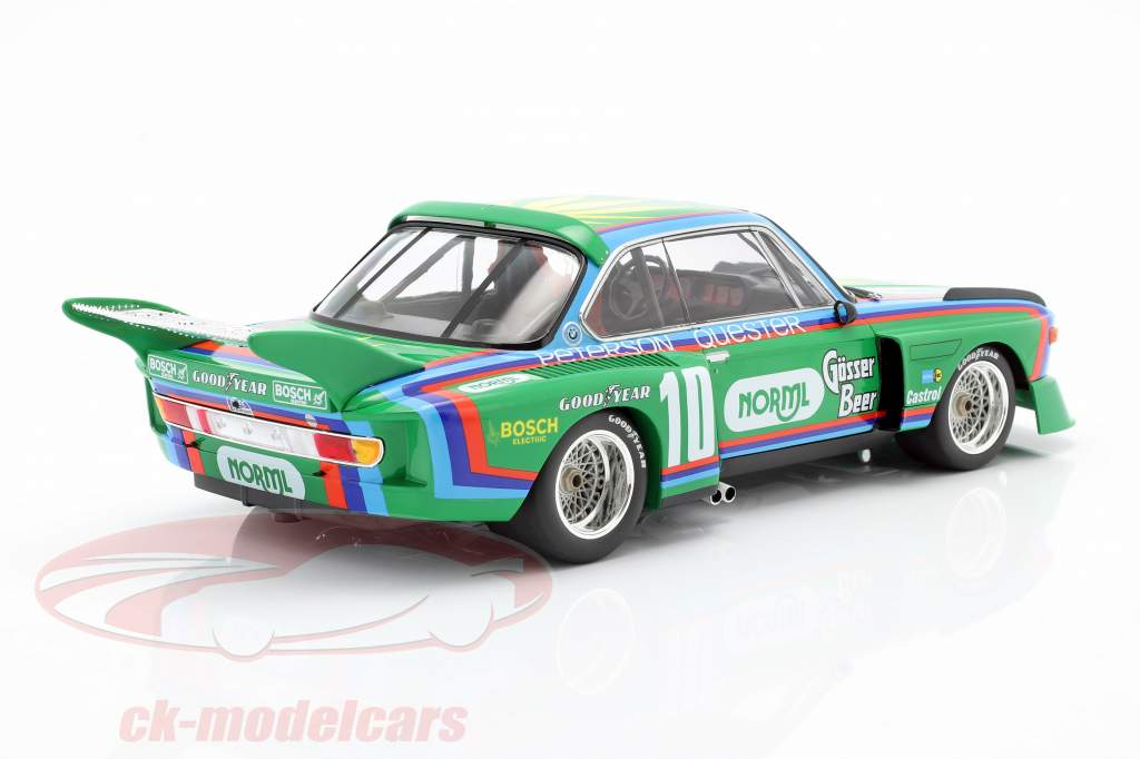 BMW 3.5 CSL #10 5º 6h Watkins Glen 1976 Quester, Peterson 1:18 Minichamps