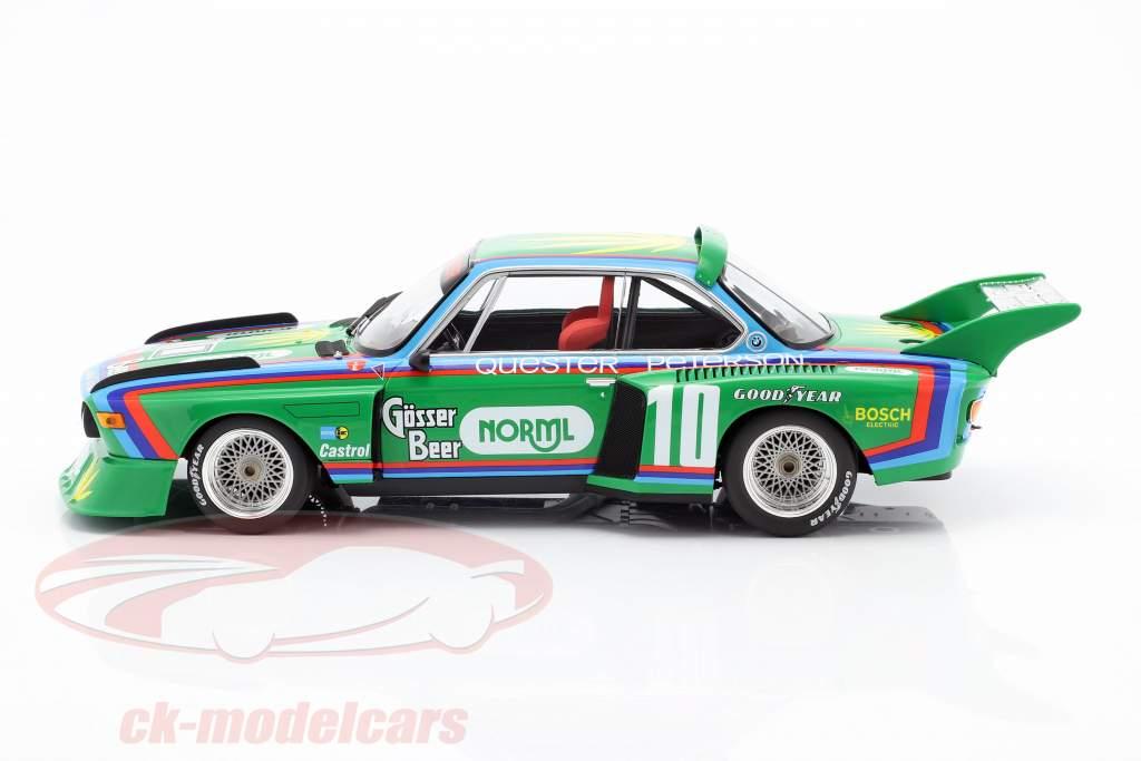 BMW 3.5 CSL #10 5 ° 6h Watkins Glen 1976 Quester, Peterson 1:18 Minichamps