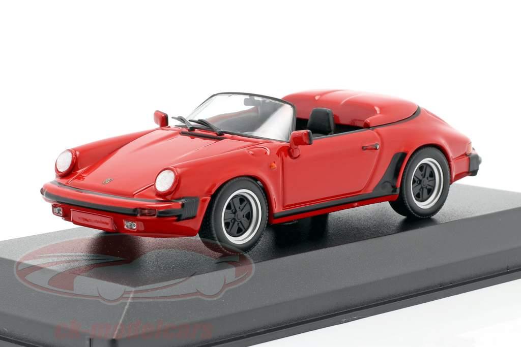 Porsche 911 Speedster Año de construcción 1988 rojo 1:43 Minichamps