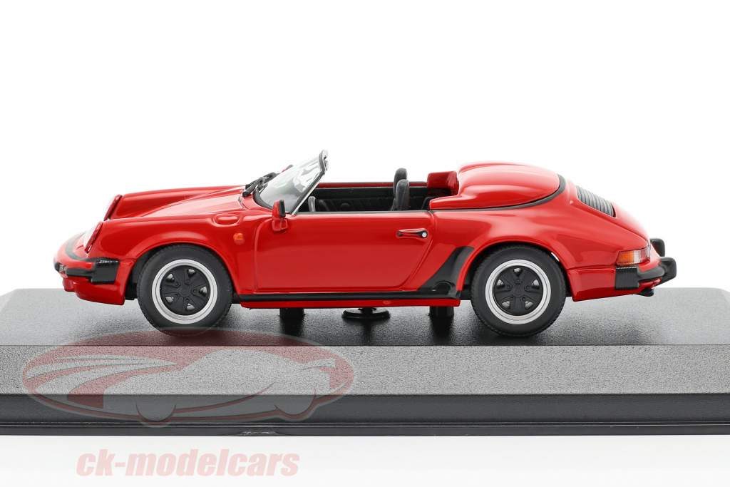 Porsche 911 Speedster Anno di costruzione 1988 rosso 1:43 Minichamps