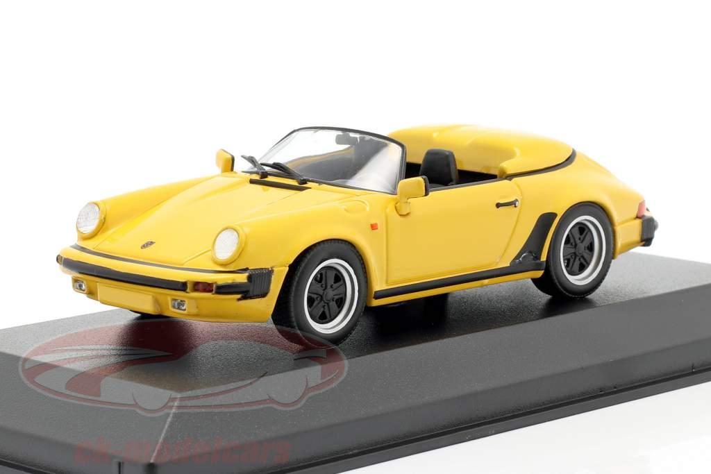 Porsche 911 Speedster Anno di costruzione 1988 giallo 1:43 Minichamps