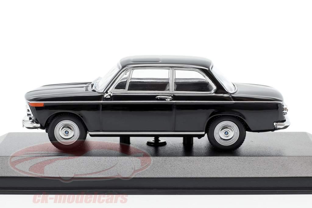 BMW 1600 year 1968 black 1:43 Minichamps