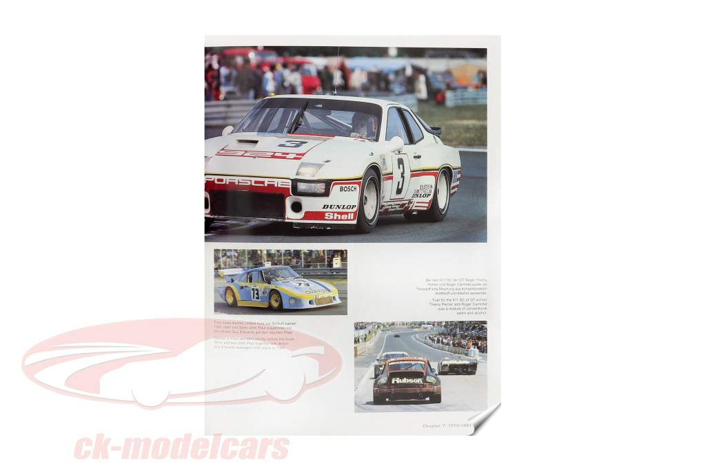 Buch: Porsche in LeMans - Die ganze Erfolgsgeschichte seit 1951