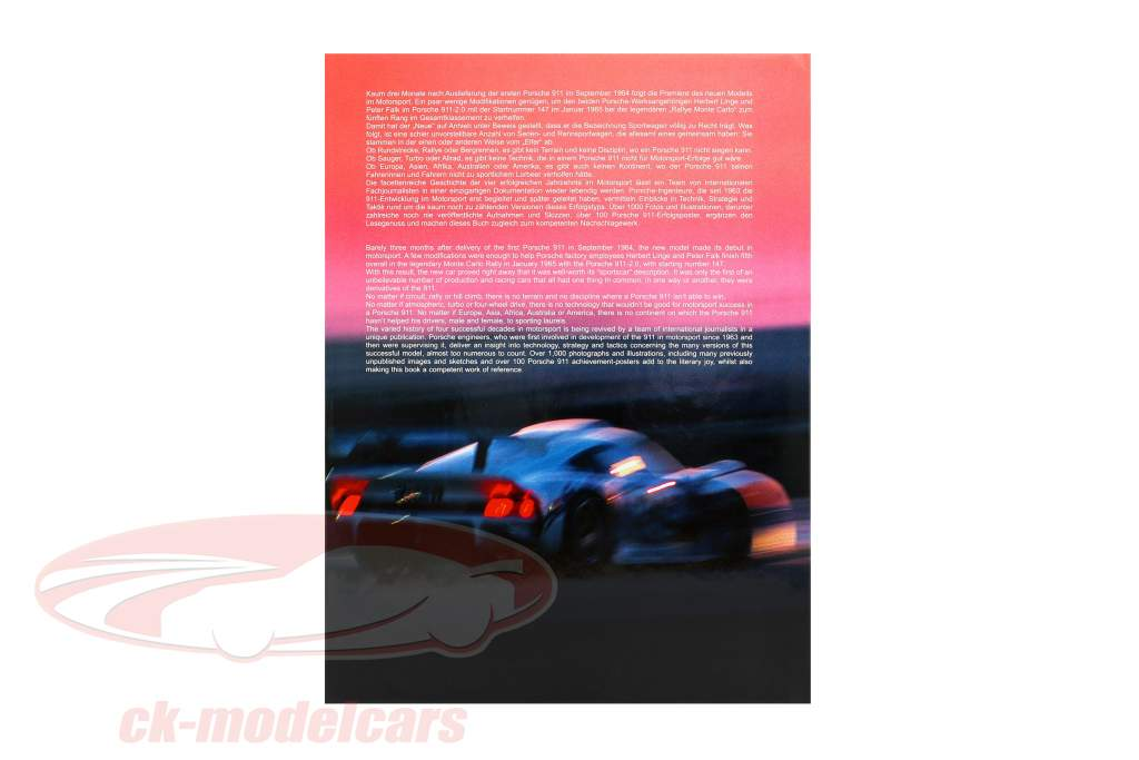 Boek: Porsche 911 in Racing - Vier Decennia in Motorsport