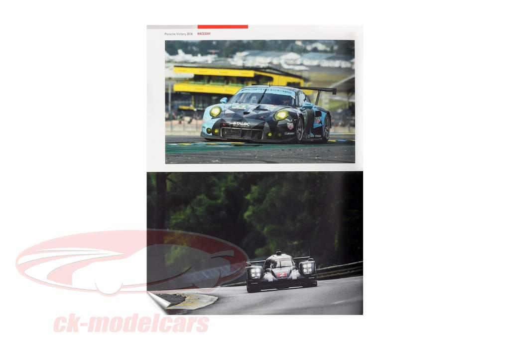 Buch: Porsche Victory 2016 (24h LeMans) / von R. De Boer, T. Upietz