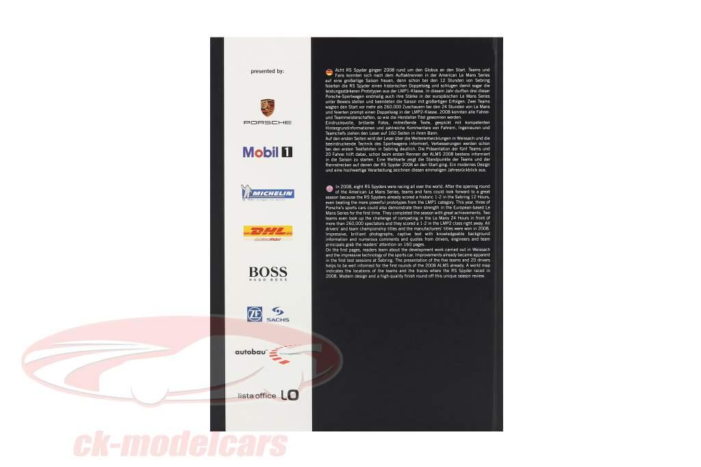 Libro: Porsche RS Spyder 2008 / por U. Upietz