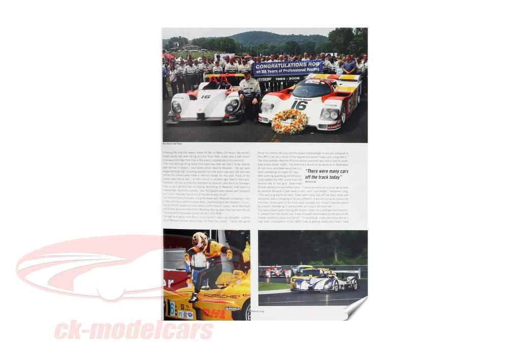 Book: Porsche RS Spyder 2008 / by U. Upietz