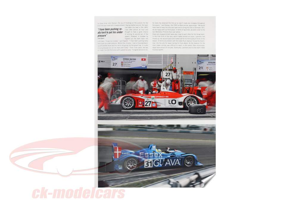 bog: Porsche RS Spyder 2008 / af U. Upietz