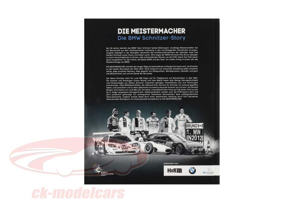 Libro: Die Meistermacher - El BMW Historia de Schnitzer