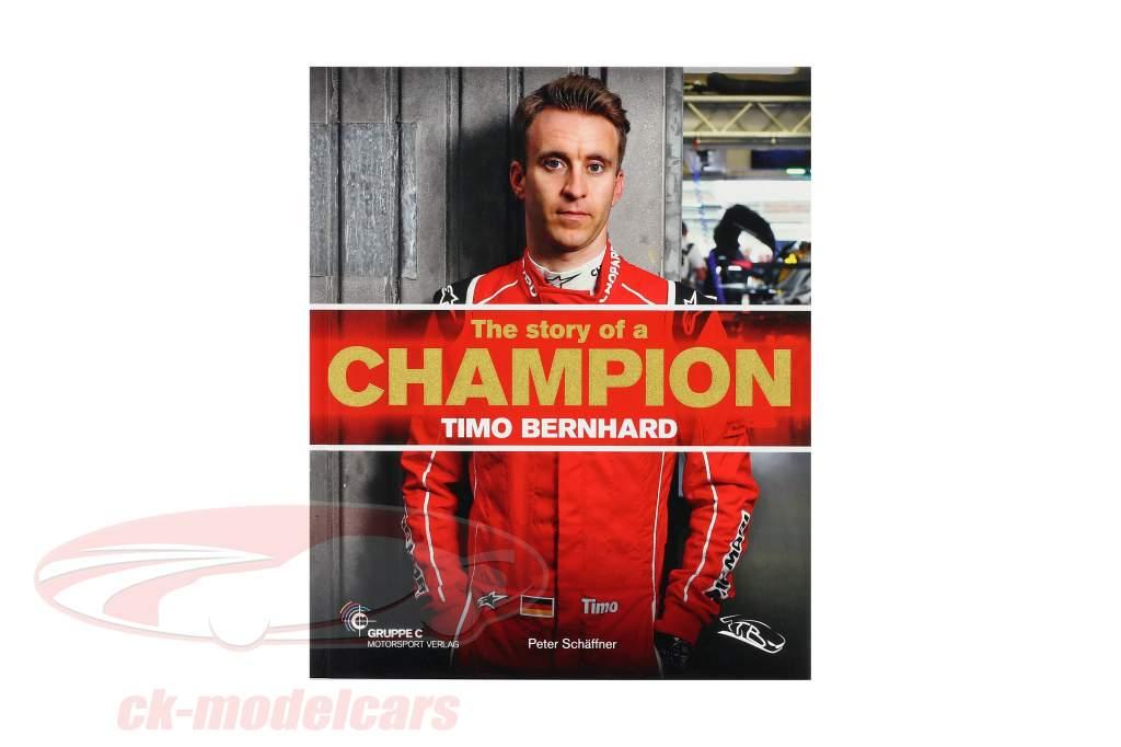 Livre: Timo Bernhard - Le histoire de un champion