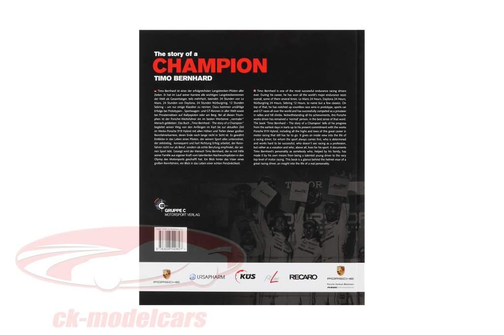 libro: Timo Bernhard - il storia di un campione