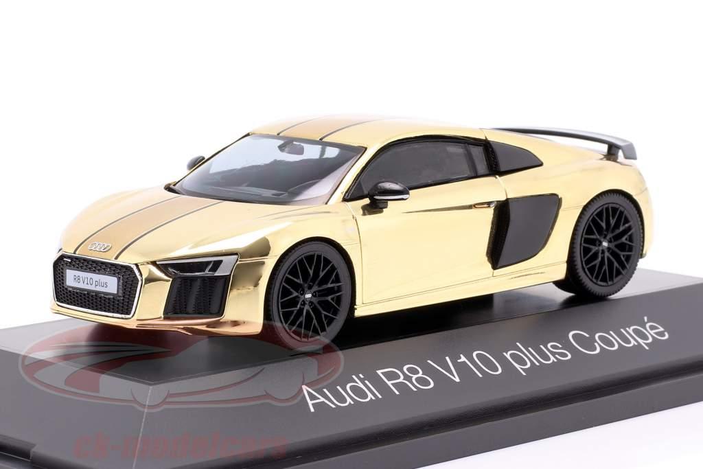 Audi R8 V10 plus Coupe oro brillante 1:43 Herpa
