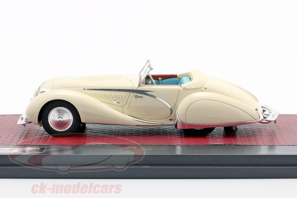 Talbot-Lago T150C Open Cabriolet Figoni & Falaschi 1936 room wit 1:43 Matrix